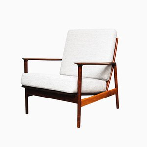 Lounge Chair by Ib Kofod-Larsen for Selig