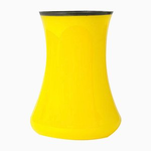 Antique Yellow Tango Glass Vase from Loetz