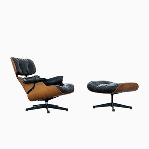 Lounge Chairs by Charles & Ray Eames for Contura, 1963, Set of 2