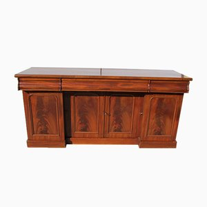 Antique English Mahogany Sideboard