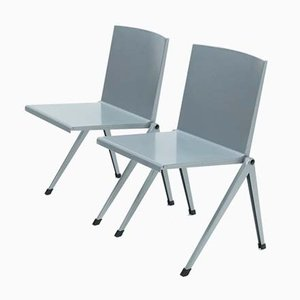1453 Armchairs by Gerrit Rietveld for Gispen, 1990s, Set of 2