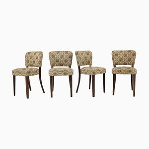 Dining Chairs, Czechoslovakia, 1950s, Set of 4