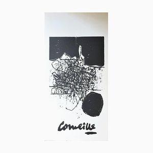 Poster litografico di Guillaume Corneille, 1960