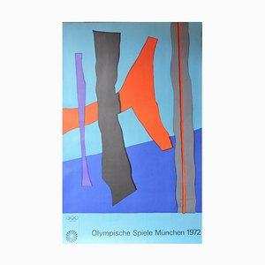 Winter Fritz Olympic Game Munich Poster, 1972