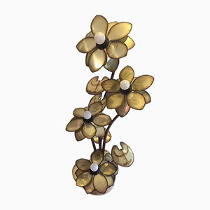 Vintage Flower Lamp from Maison Jansen, 1970s