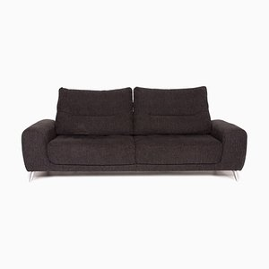 Anthracite Grey Fabric 4-Seat Sofa from Mondo
