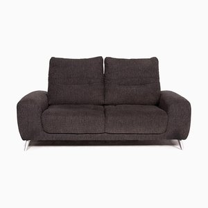 Anthracite Grey Fabric 2-Seat Sofa from Mondo