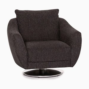 Anthracite Grey Fabric Armchair from Mondo