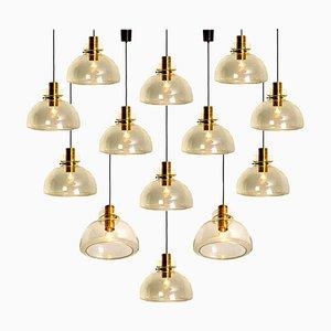 Pendant Lamp by Herbert Proft for Limburg Glashütte, 1970s