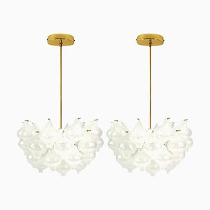 Tulip Light Fixtures by J.T. Kalmar, 1970s, Set of 2