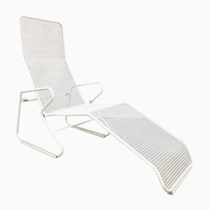 Mid-Century Modern Metal Wire Lounger, 1960s