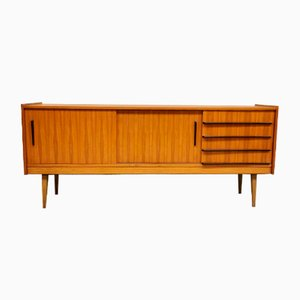 Minimalistisches Vintage Teak Sideboard, 1960er