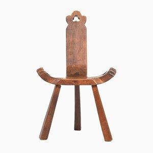 Brutalist Spanish Chair, 1940s