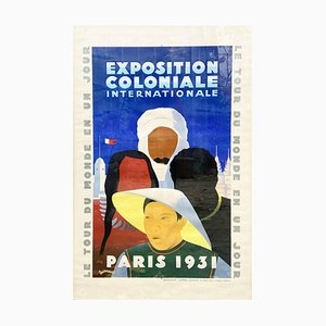 Paris International Colonial Exhibition Desmaures by Jean Victor, 1931