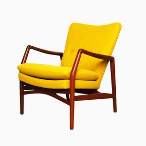 Model 215 Lounge Chair by Kurt Olsen for Slagelse Møbelværk, 1954