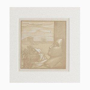 Recalling Greece Woodcut