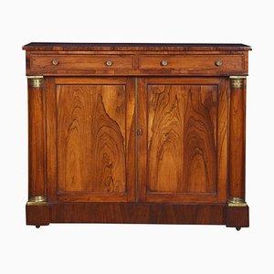 Regency Rosewood 2-Door Cabinet, 1820s