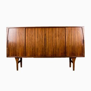 Danish Brazilian Rosewood Highboard by Henning Kjaernulf for Bruno Hansen, 1960s