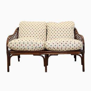 Italian Bamboo Sofa, 1970s