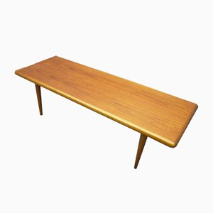 Teak Coffee Table by Jacob Nielsen for Odder Møbler, 1960s