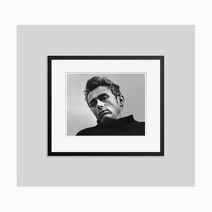 James Dean Archival Pigment Print Framed in Black by Alamy Archives