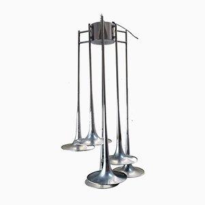 Italian Trumpet Ceiling Lamp by Goffredo Reggiani for Reggiani, 1970s