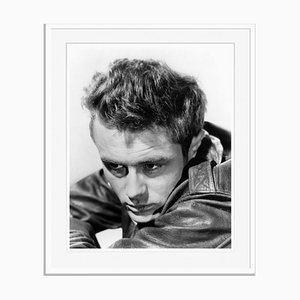 Rebel James Dean Archival Pigment Print Framed in White by Everett Collection