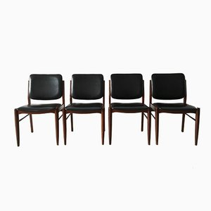 Chaises de Salon Vintage, Danemark, 1960s, Set de 4
