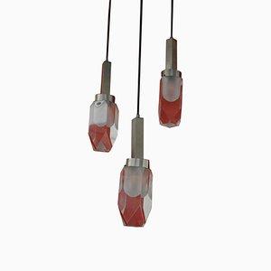 Vintage Pendant Lamp by Gaetano Missaglia, 1960s