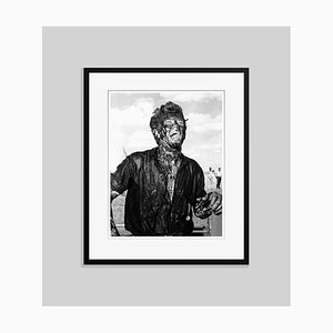 James Dean Giant Star Archival Pigment Print Framed in Black by Everett Collection