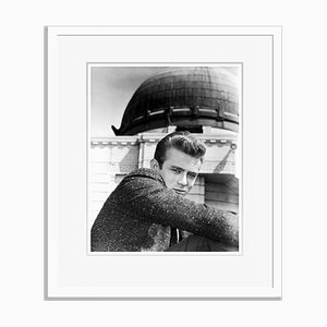 James Dean Filming Rebel Without a Cause Archival Pigment Print Framed in White by Everett Collection