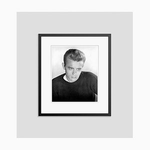 Handsome Dean Archival Pigment Print Framed in Black by Everett Collection
