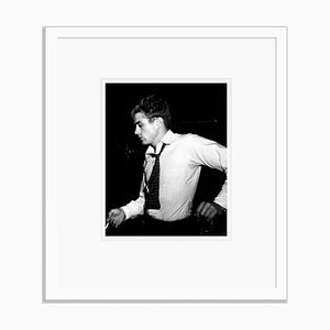 Smoking James Dean Archival Pigment Print Framed in White by Everett Collection
