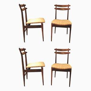 Beistellstühle von AMMA Studio, 1960er, 4er Set