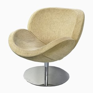 Mid-Century Modern Chrome Swivel Egg Chair, 1960s