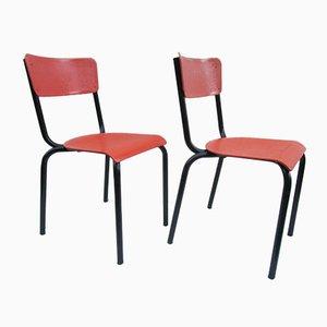 Stühle von Pierre Guariche für Meurop, 2er Set