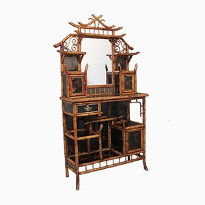 19th Century Bamboo Cabinet