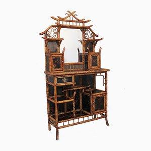 Mueble de bambú del siglo XIX