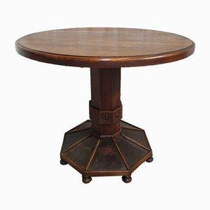 Art Deco Oak Table, 1930s