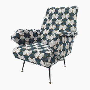 Mid-Century Armchair by Gigi Radice for Minotti, 1950s