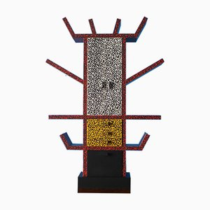 Casablanca Bookcase in Miniature by Ettore Sottsass for Memphis, 1986
