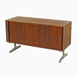 Small Danish Rosewood Sideboard by Marius Byrialsen for Nipu, 1968