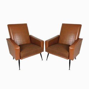 Vintage Skai Lounge Chairs, 1960s, Set of 2