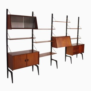 Wall Unit by Louis van Teeffelen for Wébé Holland, 1958