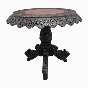 19th Century Burmese Carved Centre Table