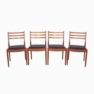 Vintage Teak Esszimmerstühle von Victor Wilkins für G-Plan, 1960er, 4er Set