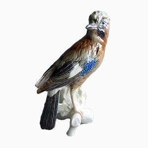Porcelain Jay Figure from Göbel, 1970s