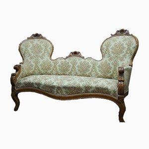 Doppelseitiges Sofa, 1800er
