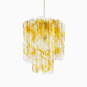 Italian Chandelier by Paulo Venini for Murano, 1960