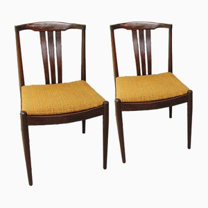 Mid-Century Dining Chairs, 1960s, Set of 2